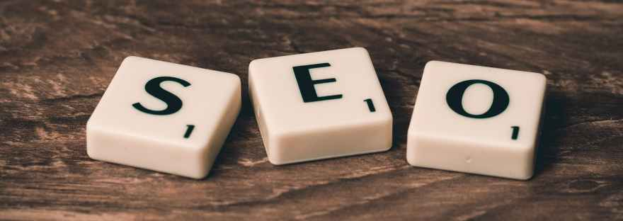 SEO in letter squares