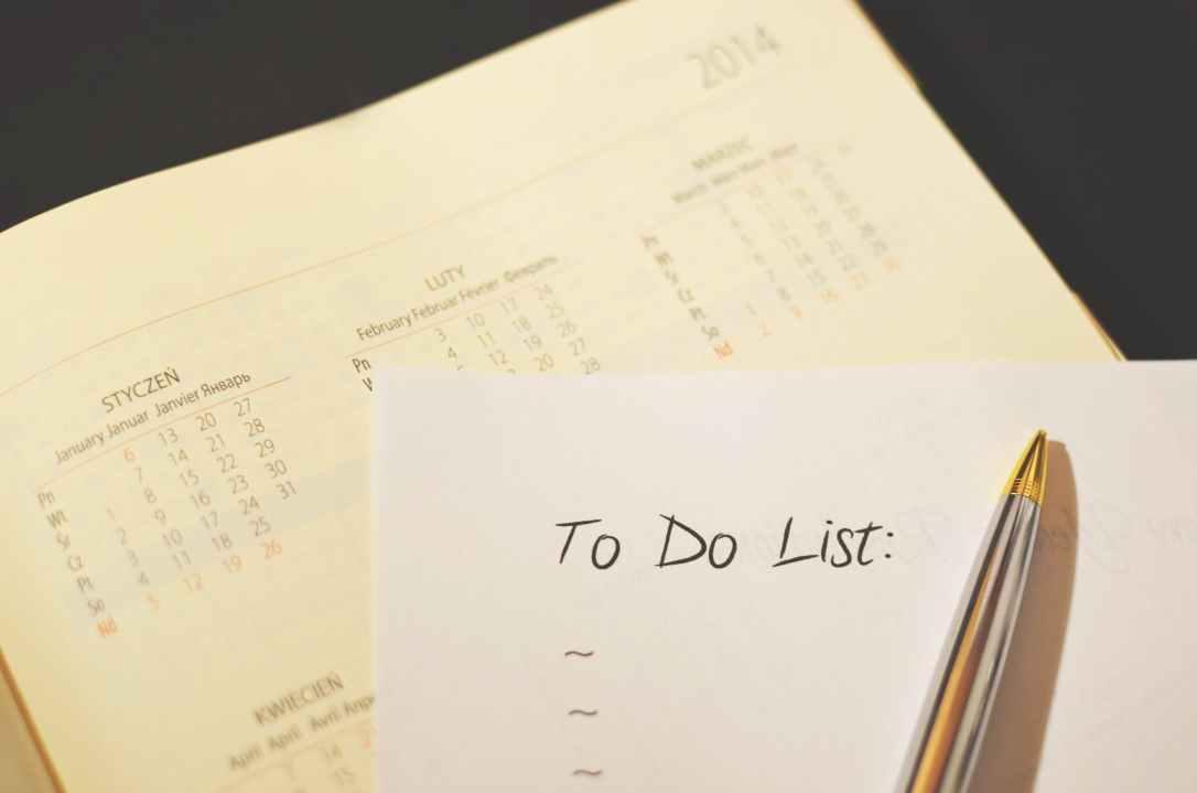 To do list with calander